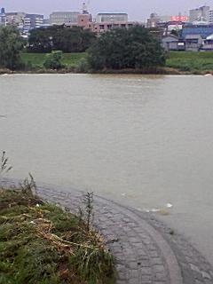 川の流れが