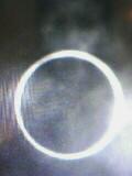 金環日食を撮影したら人の顔がっ(笑)!