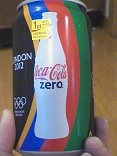 コカ・コーラがオリンピック仕様に