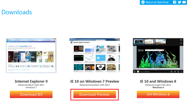 Ie10download