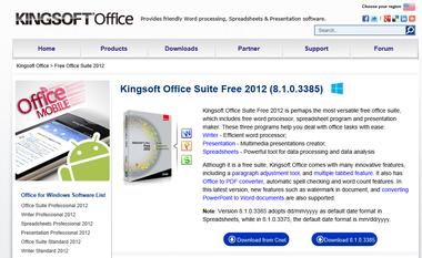 Kingsoftoffice2012free