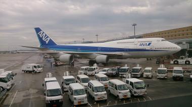 ANA ボーイング747-400D(JA8961)