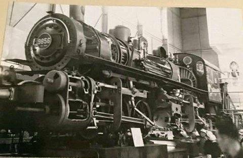 国鉄9850形機関車9856号(展示品)