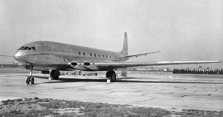 世界初のジェット旅客機の試作機