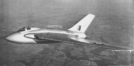 デ・ハビランド社 DH.108型