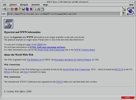 NCSA Mosaic Browser