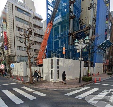 北海道新聞社銀座ビル(旧東京支社)の跡地
