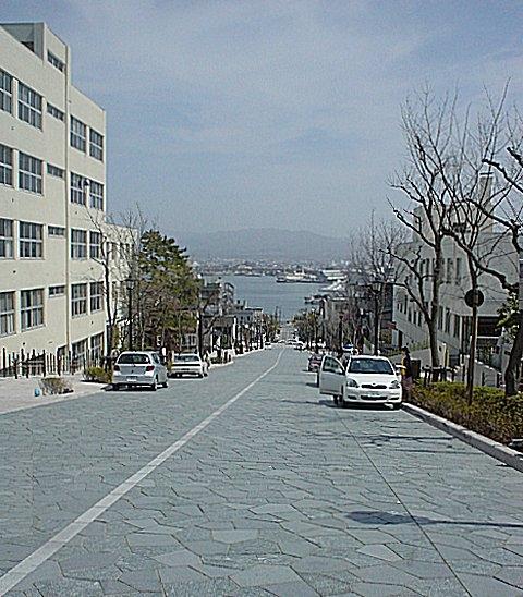 八幡坂(北海道函館市)