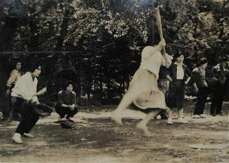 ソフトボール大会(昭和35年頃)
