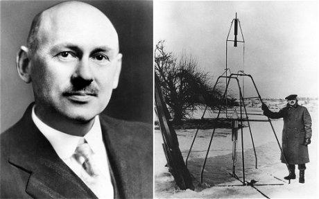 ゴダードと世界初の液体燃料ロケット