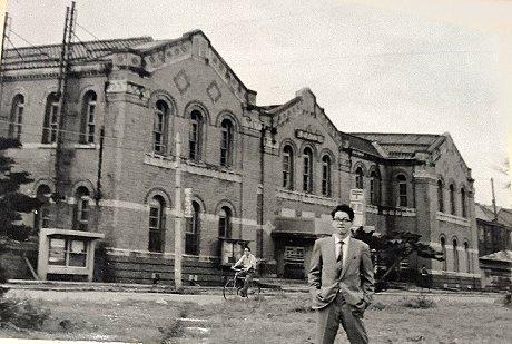 旧函館郵便局(昭和37年8月撮影)