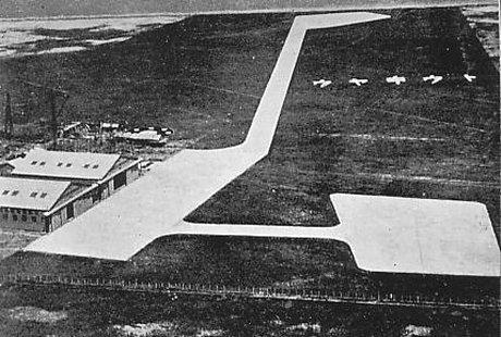 開港当時の羽田空港(1933年)