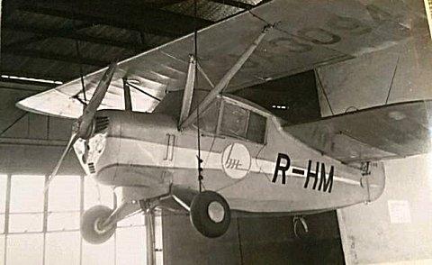 新立川飛行機製 R-HM型軽飛行機(立飛 R-HM)
