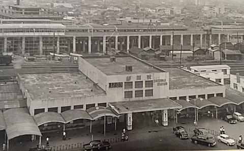 静岡駅(昭和39年)