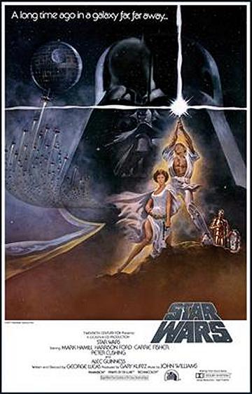 Star Warsのポスター